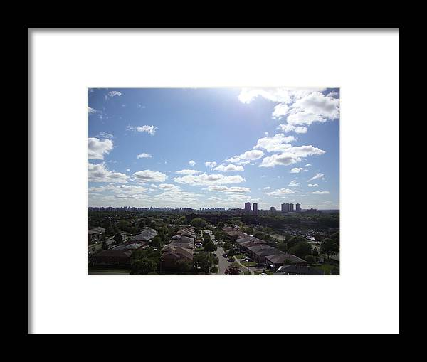 City Framed Print featuring the photograph Scarborough City View by Ana Babin
