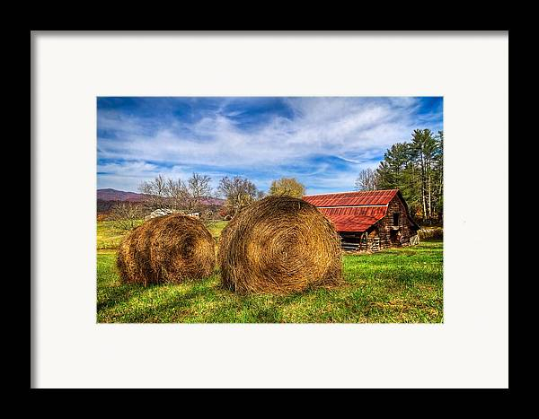 Andrews Framed Print featuring the photograph Scarecrow's Dream by Debra and Dave Vanderlaan