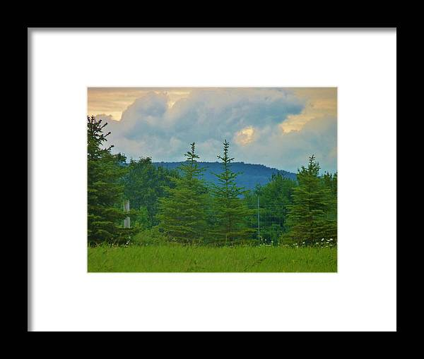 Mountains Framed Print featuring the photograph Scenery In Northern Pa by Jeanette Oberholtzer