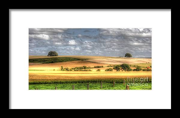 Wiltshire Framed Print featuring the photograph Scenic Wiltshire by Traci Law