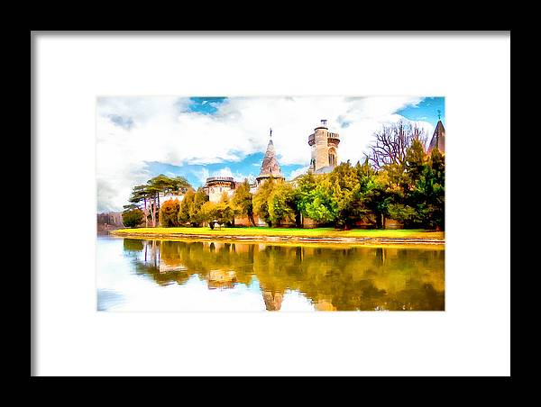 Schloss Laxemburg Framed Print featuring the photograph Schloss Laxemburg by Kathryn Bailey