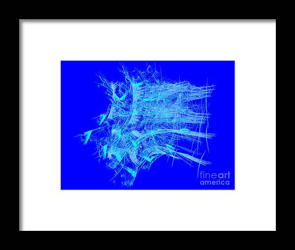 Digital Art Framed Print featuring the digital art School Days by Alvardo Rockigres