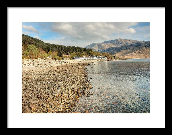 Scotland Framed Print featuring the photograph Scottish Village by Colin Bruce