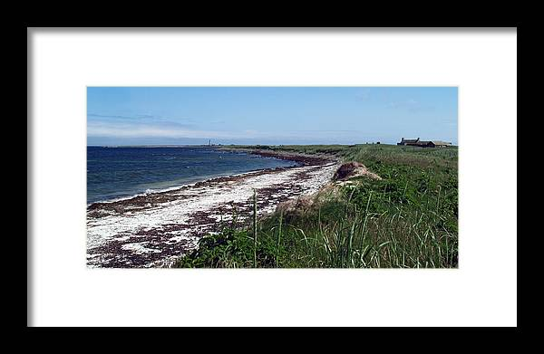 Bay Framed Print featuring the photograph Scuthvie Bay And Start Point by Steve Watson