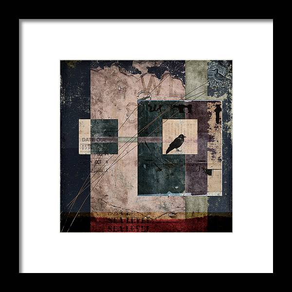 Sea Level Framed Print featuring the photograph Sea Level by Carol Leigh
