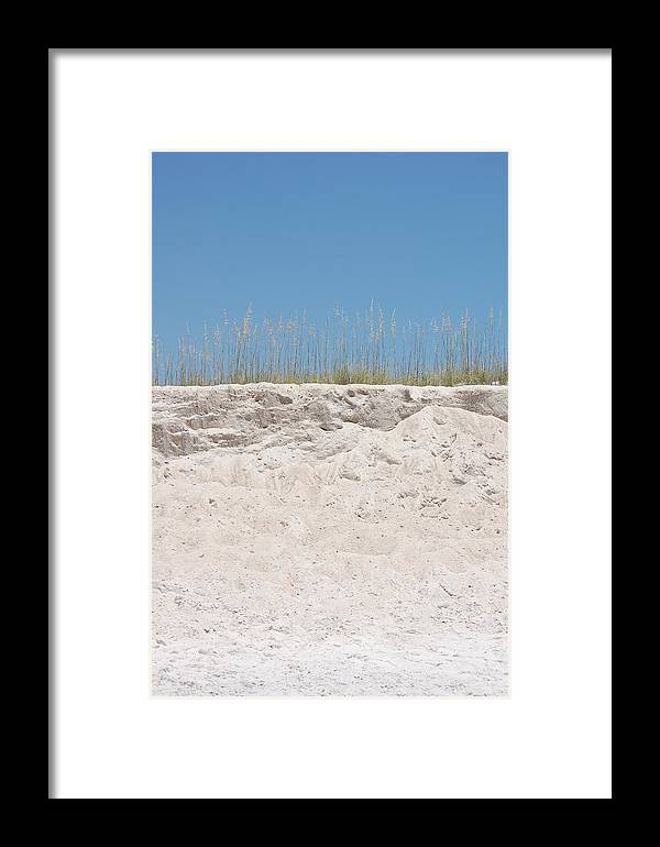 Dunes Framed Print featuring the photograph Sea Oat Love by May Photography