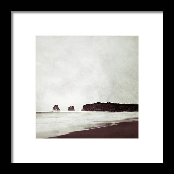France Framed Print featuring the photograph Sea Stacks by Maggy Morrissey