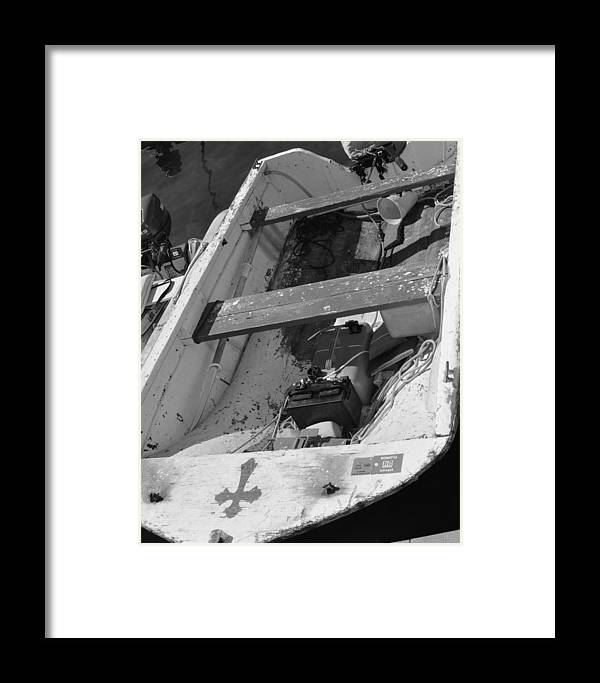 Boat Framed Print featuring the photograph Sea Worthy? by Jill Kelley