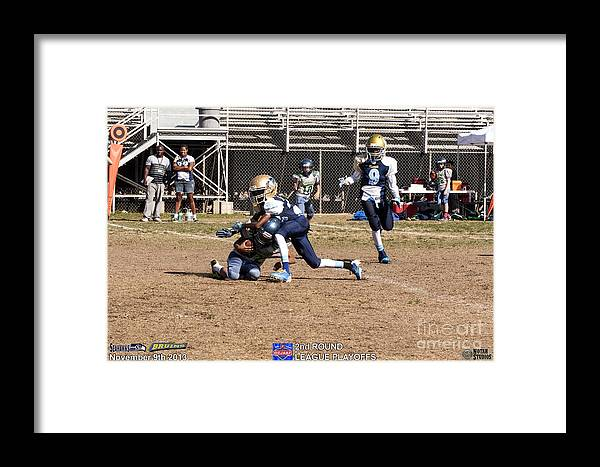 Framed Print featuring the photograph Seahawks Vs Bruins 8294 by Notah Studios