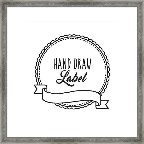 Art Draws On Hand Stamp