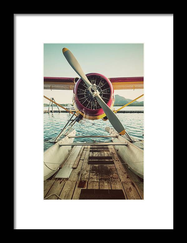 Propeller Framed Print featuring the photograph Seaplane Dock by Shaunl
