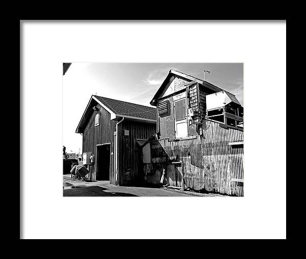 Lbi Framed Print featuring the photograph Seaport by Mark Miller