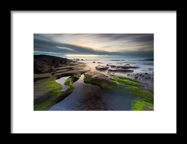 Scenics Framed Print featuring the photograph Seascape Bali by Www.tonnaja.com