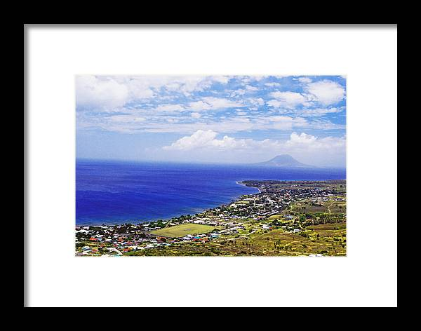 Ocean Framed Print featuring the photograph Seaside Resort by Gary Wonning