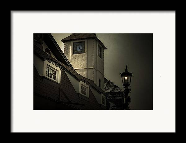 City Framed Print featuring the photograph Seasons Greetings by Mario Celzner