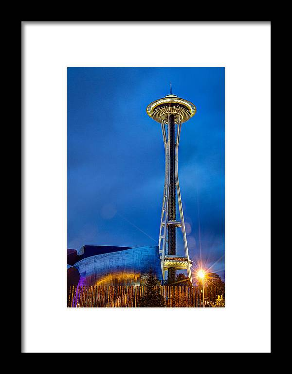 2014 Framed Print featuring the photograph Seattle Impressions by Wade Brooks