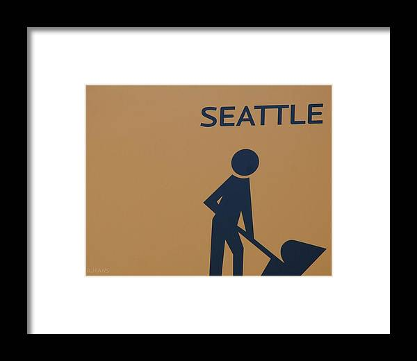 Seattle Framed Print featuring the photograph Seattle by Rob Hans