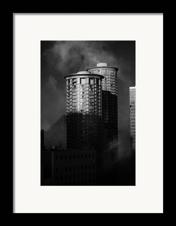Montana Framed Print featuring the photograph Seattle Towers by Paul Bartoszek