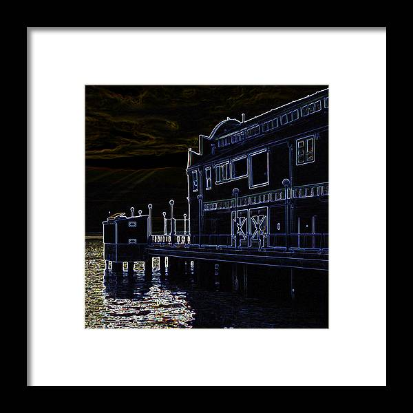 Seattle Framed Print featuring the photograph Seattle Waterfont by Michael Stitt