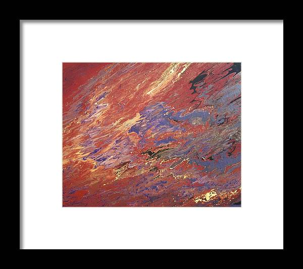 Fusionart Framed Print featuring the painting Sedona by Ralph White