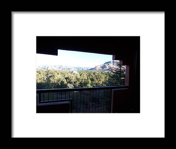 Sedona Framed Print featuring the photograph Sedona01 by James Zedaker