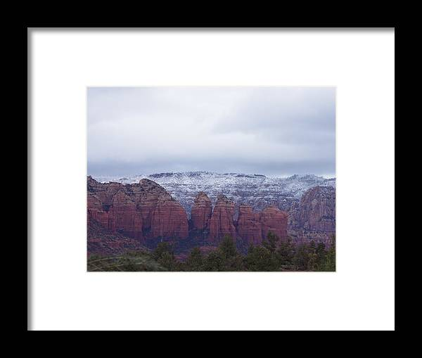 Sedona Framed Print featuring the photograph Sedona04 by James Zedaker