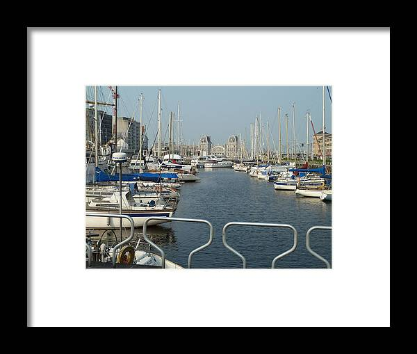 See Port Framed Print featuring the photograph See Port by Milan Matyas