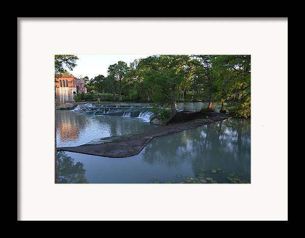 Architectur Framed Print featuring the photograph Seguin Tx 01 by Shawn Marlow