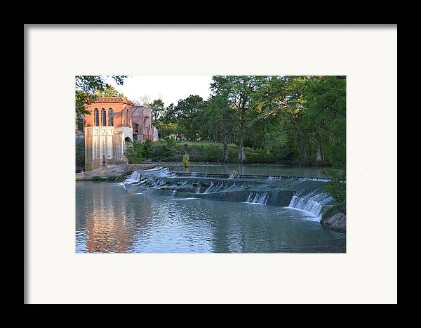 Architectur Framed Print featuring the photograph Seguin Tx 02 by Shawn Marlow