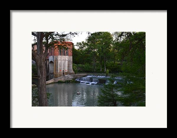 Architectur Framed Print featuring the photograph Seguin Tx 03 by Shawn Marlow
