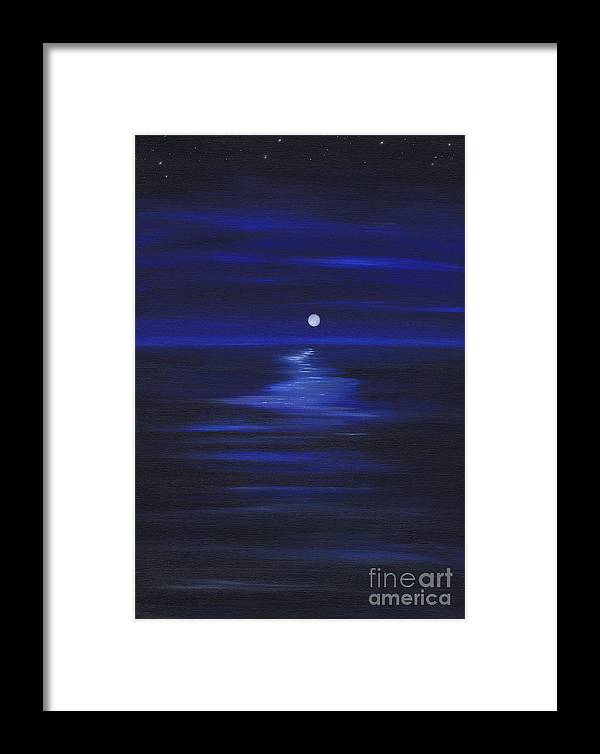Serenity Framed Print featuring the painting Serenity 2 by Kenneth Clarke