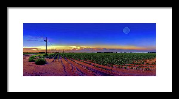 West Texas Framed Print featuring the photograph Serenity by Robert Hudnall