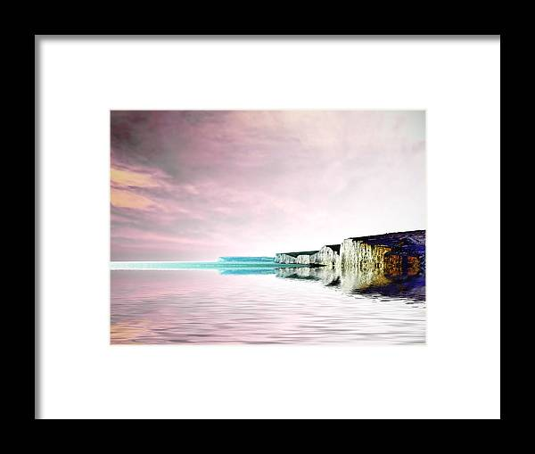 Framed Print featuring the photograph Seven Shades by Sharon Lisa Clarke