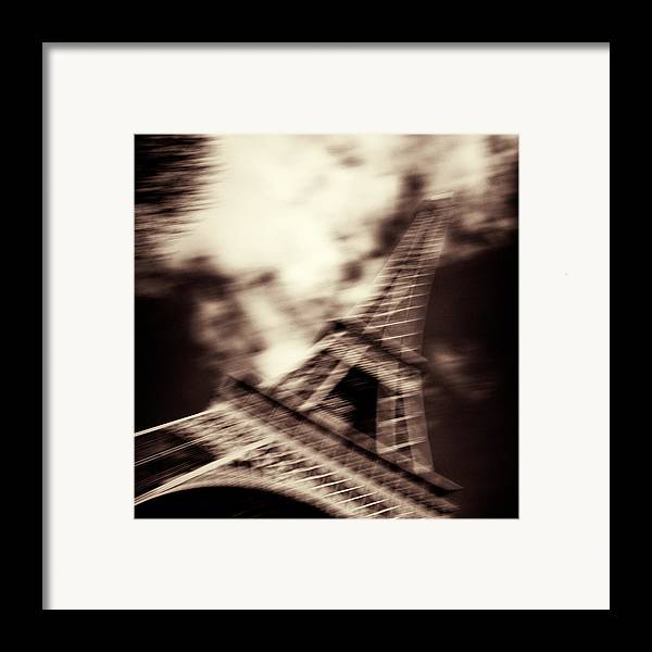 Eiffel Tower Framed Print featuring the photograph Shades Of Paris by Dave Bowman