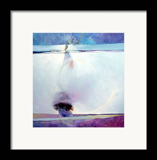 Dale Witherow Framed Print featuring the painting Shadow And Silence by Dale Witherow