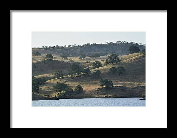 Framed Print featuring the photograph Shadow Hills by Beth Sanders