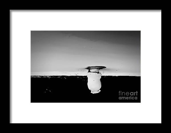 Abstract Framed Print featuring the photograph Shape No. 118 by Fei A