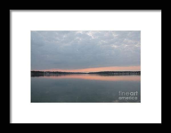 Beach Framed Print featuring the photograph Reflections On The River by Suzanne Kelly