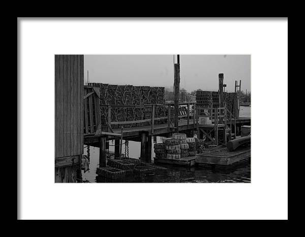Dock Framed Print featuring the photograph Sheepshead Dock by Nikita Albert