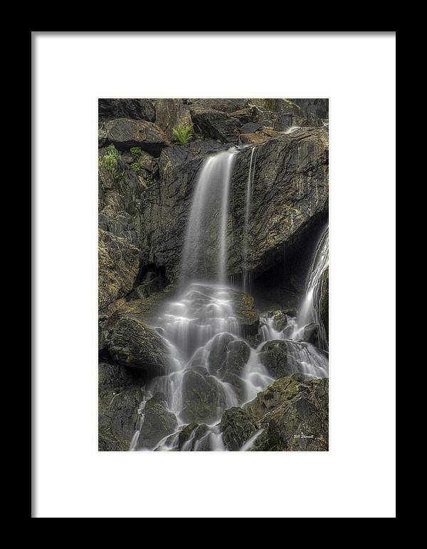 Waterfalls Framed Print featuring the photograph Sheer Beauty by Bill Sherrell