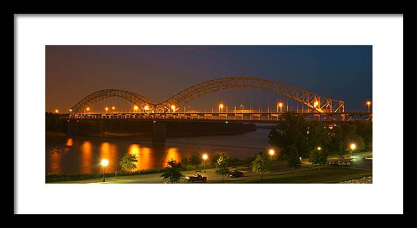 Sherman Minton Bridge - New Albany by Mike McGlothlen