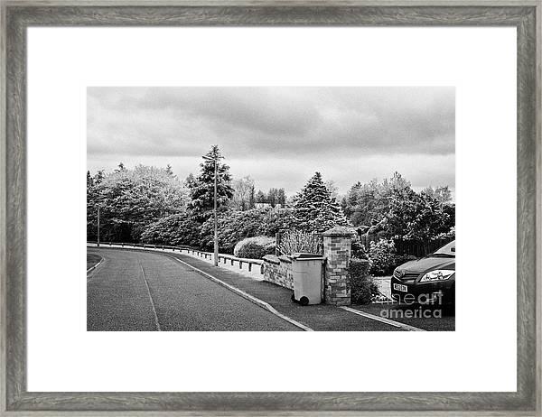 Sherwood Crescent Lockerbie Scotland Uk Site Of The Crash Of Pan Am