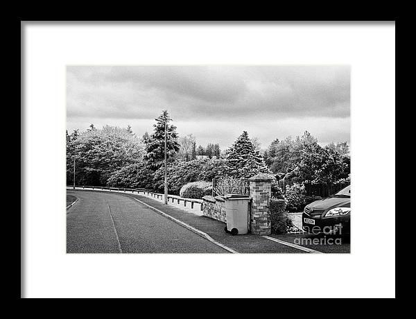 Sherwood Crescent Lockerbie Scotland Uk Site Of The Crash Of Pan Am ...