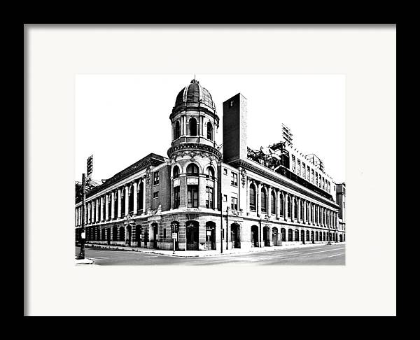 Shibe Framed Print featuring the photograph Shibe Park by Benjamin Yeager