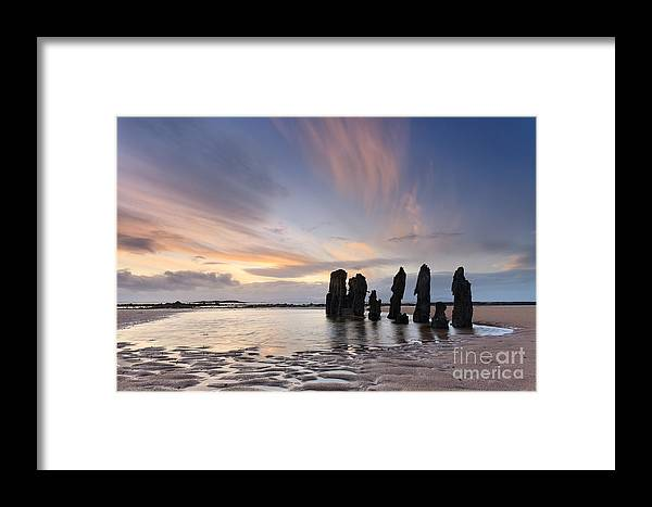 Beach Framed Print featuring the photograph Ship Wreck by Rod McLean