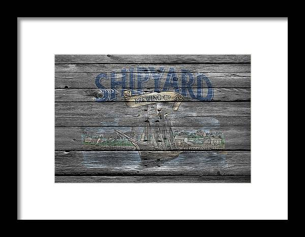 Shipyard Brewing Framed Print featuring the photograph Shipyard Brewing by Joe Hamilton
