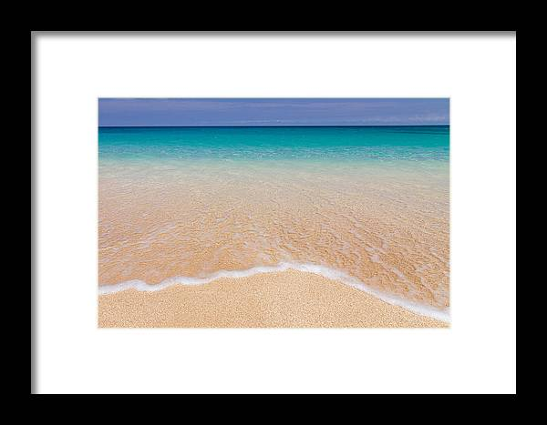 Wave Framed Print featuring the photograph Shore by Doug Falter