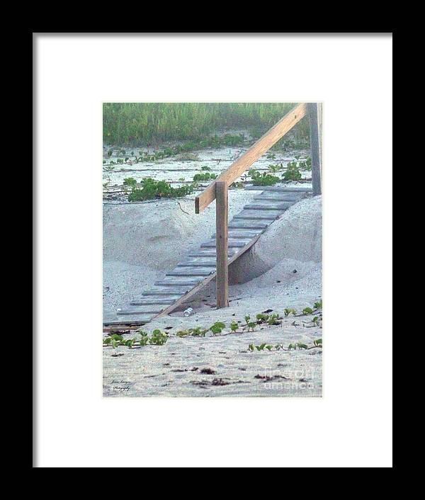 Ramp Framed Print featuring the photograph Short Cut by Jennifer Lavigne