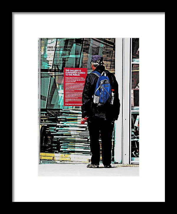 Christchurch Framed Print featuring the photograph Shown The Red Card by Steve Taylor