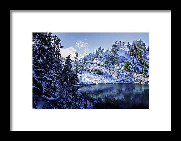 Alpine Lakes Wilderness Framed Print featuring the photograph Shrine by Ryan McGinnis